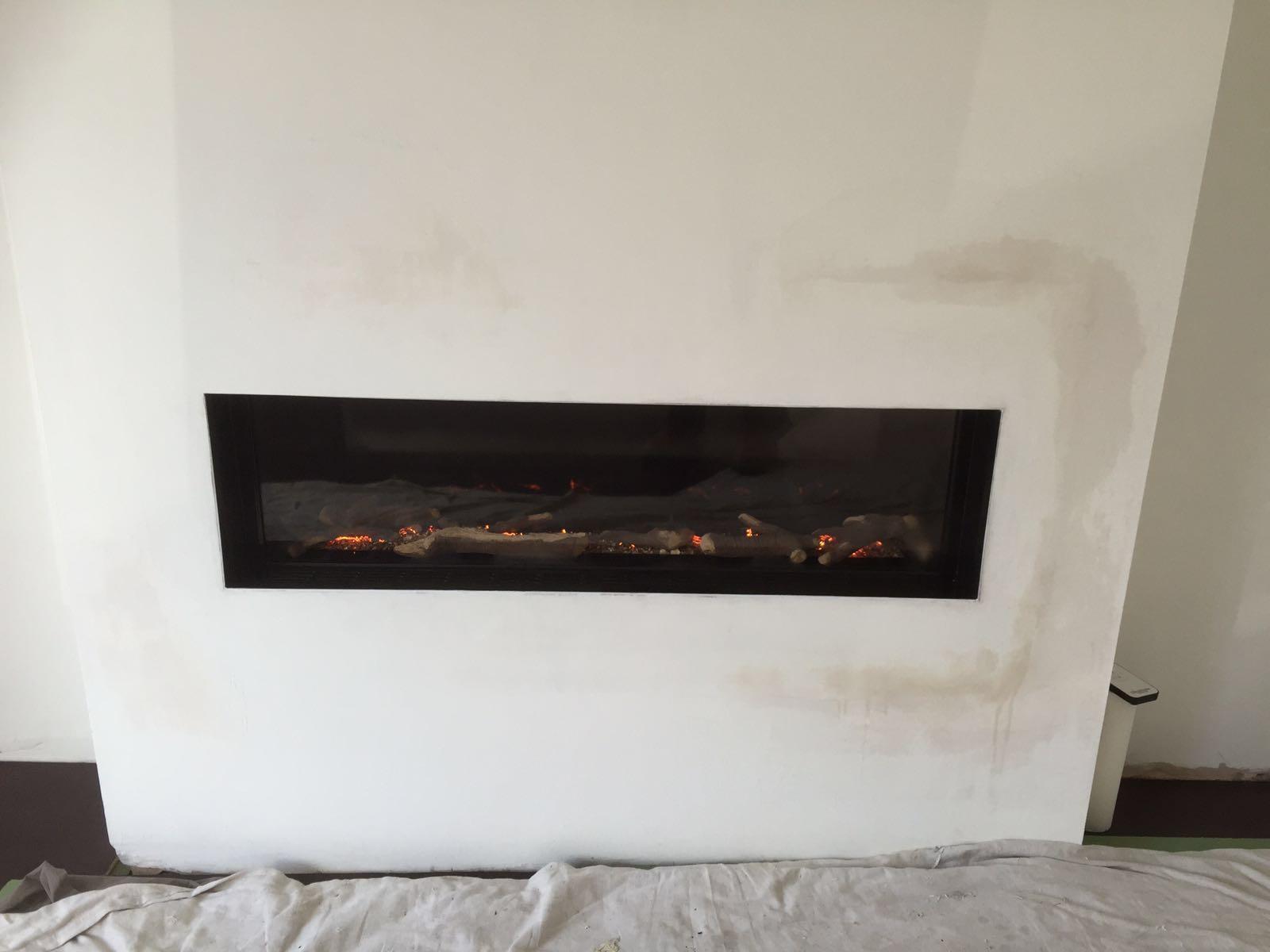 Fire In Wall Part - 24: In Wall Gas Fire Southampton